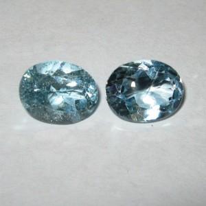 2 Pcs Sky Blue Topaz 6.50 carat
