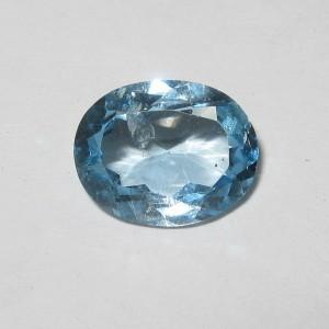 Batu Permata Oval Blue Topaz 2.75 carat