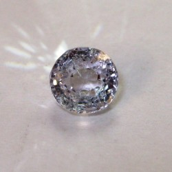 Batu Permata Light Purple Round Spinel 1.15 carat