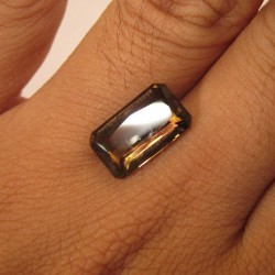 Rectangular Smoky Quartz 5.18 carat