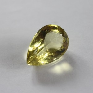 Pear Shape Lemon Quartz 32.52 carats