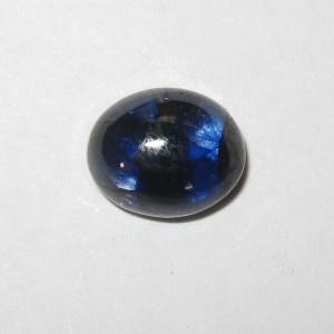 Batu Mulia Blue Sapphire 2.85 carat Oval Cabochon
