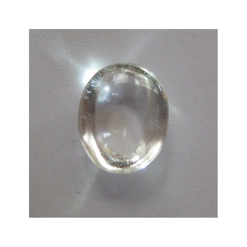 natural rock crystal quartz 414 carat oval cabochon
