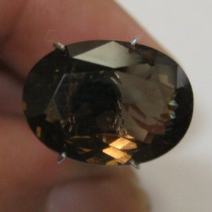 Oval Smoky Quartz 5.76 carat