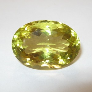 Natural Lemon Quartz 21.69ct