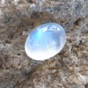 Colorles Blue Flash Moonstone 3.64 carat