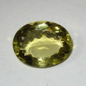 Lemon Quartz Oval 14ct