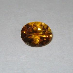 Batu Permata Natural Orange Citrine 3.15 carat