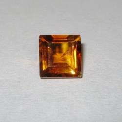 Rectangular Orange Citrine 1.60 carat