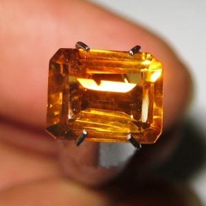 Citrine Orange Rectangular 2.03 carat