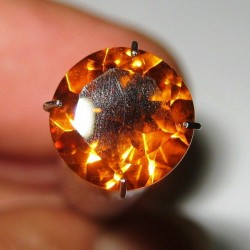 Round Orange Citrine 2.15 carat