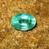 Batu Zamrud Hijau Oval 1.26 carat