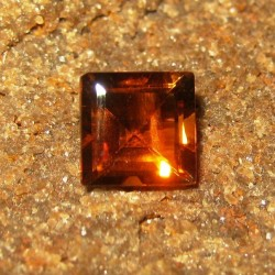 Square Orange Citrine 1.58 carat