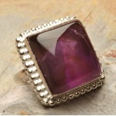 Cincin Natural Amethyst Ring 7