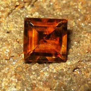 Rectangular Orange Citrine 1.59 carat