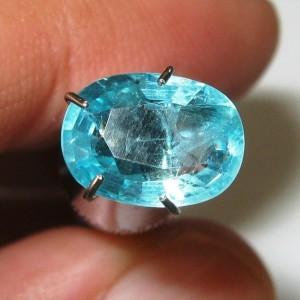 Bluish Green Apatite 1.79 carat