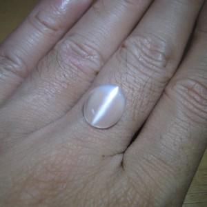 Batu Mulia Natural Cats Eye Moonstone 4.23 carat