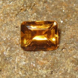Rectangular Orange Citrine 2.36 carat