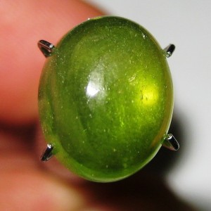 Batu Mulia Green Hydrogrossular Garnet 5.16 carat