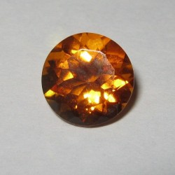 Citrine Orange Round Cut 2.53 carat