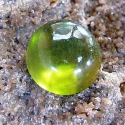 Round Cab Hydrogrossular Garnet 6.53 carat