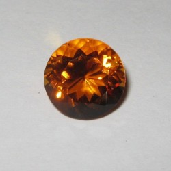 Orange Round Citrine 2.71 Carat