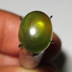 Oval Cab Hydrogrossular Garnet 4.90 carat