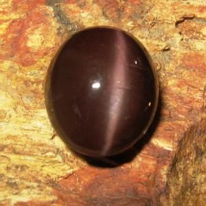 Batu Mulia Natural Cats Eye Spectrolite 7.70 carat