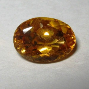 Oval Orange Citrine 2.10 carat