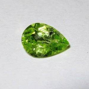 Pear Shape Peridot 1.25 carat