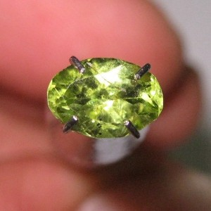 Oval Green Peridot 0.80 carat
