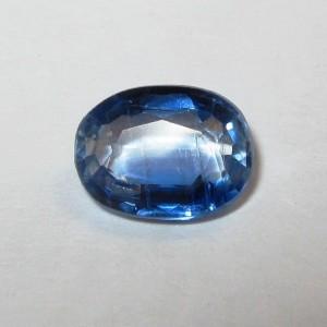 Batu Permata Natural Blue Kyanite Oval 1.29 carat