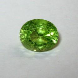 Yellowish Green Oval Peridot 1.95 carat
