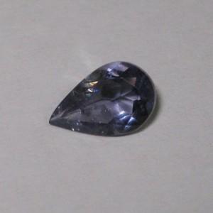 Pear Shape Violet Iolite 0.90 carat