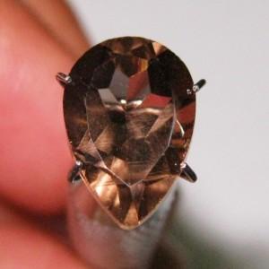 Pear Shape Smoky Quartz 3.45 carat