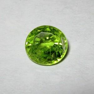 Batu Permata Natural Peridot Round 1.66 carat