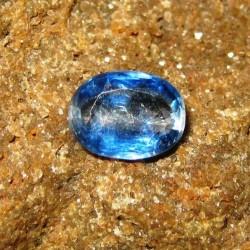 Batu Permata Natural Kyanite Biru Oval 1.42 carat