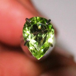Pear Shape Peridot 0.95 carat