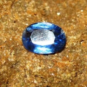 Royal Blue Kyanite 1.39 carat Untuk Cincin Silver Elegan