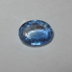 Batu Permata Natural Kyanite 1.33 carat Oval cut