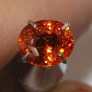 Spessartite Garnet Oval 1.35 carat