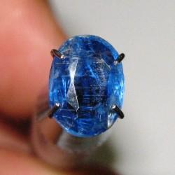 Kyanite Biru Pekat Oval 1.35 carat