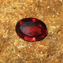 Oval Red Pyrope Garnet 1.03 carat