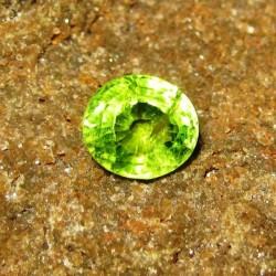 Green Peridot 2.88 carat Oval