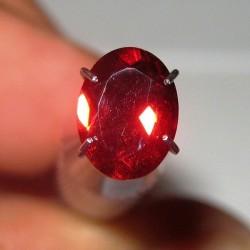 Red Oval Pyrope Garnet 1.50 carat