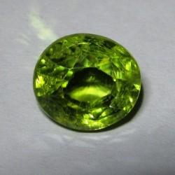 Green Peridot Oval 2.84 carat