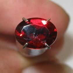 Batu Mulia Natural Red Pyrope Garnet Oval 1.48 carat
