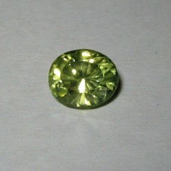 Yellowish Green Peridot Oval 2.14 carat