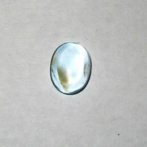Batu Permata Natural Sky Topaz 2.45 carat Oval Cab