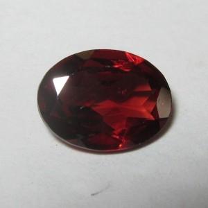 Batu Permata Natural Pyrope Almandite Garnet 1.24 carat